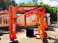 Кран-манипулятор ATLAS 80.1 вылет - 7.2м на вылете - 1100кг