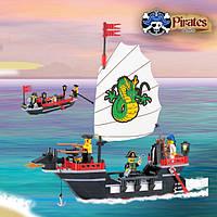 Конструктор Brick 301 Пиратский корабль 211 дет.