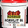 ТМ KOSBUD ACRYLIT-SL - фасадная силиконовая штукатурка (ТМ КОСБУД АКРИЛИТ-CЛ ), 25 кг.