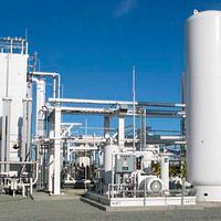 Установки сжижения природного газа