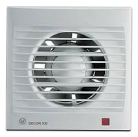 Настенный вентилятор Soler & Palau DECOR 100 c/ch/cr