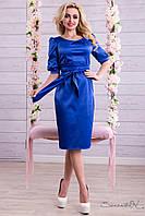 Женское нарядное атласное платье+большой размер