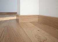 Плинтус Дуб белый матовый лак 60мм. Barlinek, фото 1