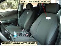 Автомобильные чехлы Peugeot 301 (разделеная спинка) с 2012-
