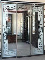 Рездвижные двери для шкафа купе, фото 1