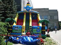 Капелька - детский батут для игры на свежем воздухе!