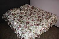 Покрывало с подушками на двухспальную кровать