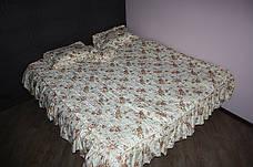 Покрывало с подушками на двухспальную кровать, фото 3