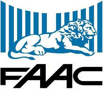 Логотип фирмы FAAC