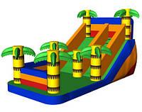 Пальма. Тропический надувной игровой батут