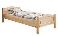 Кровать из массива дерева 023