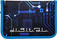 Пенал-книжка Digital K16-622-8, ТМ Kite