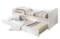 Кровать из массива дерева 024