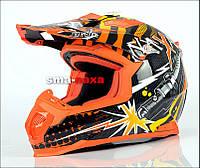 Мотоциклетный шлем NAXA C8/D CROSS QUAD ATV  / M, фото 1