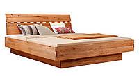 Кровать из массива дерева 025