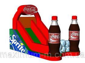 Кока-кола. Детский надувной батут на Вашу тему.
