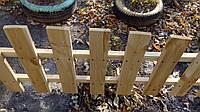 Секция забор декоративный штакетник №12 Свежепиленная сырая доска, 50