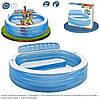 Надувной бассейн со спинкой Intex 57190