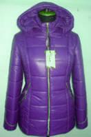 Куртка зимняя женская с капюшоном размер 46-52