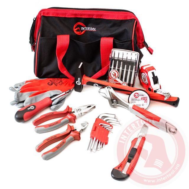 Набір інструментів Домашній помічник INTERTOOL BX-1000