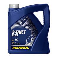 Моторное масло Mannol 2-Takt Plus API TC (4L)