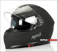 Матовый мотоциклетный шлем Nax F19 /B   / Размер L, фото 1