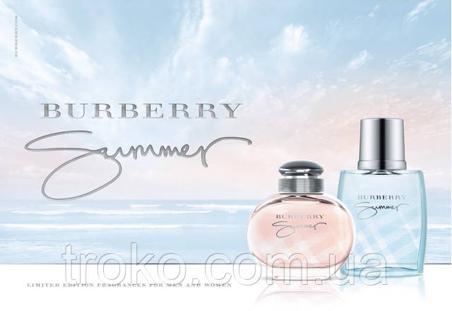 Туалетная вода Summer For Women от Burberry