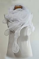 Белый женский платок