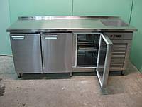Стол холодильный с распашными дверями СХ-1150x700
