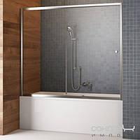 Душевые кабины, двери и шторки для ванн Radaway Шторка для ванны раздвижная Vesta DWJ 140 209114-01-01 (хром/прозрачное)