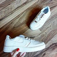 Женские белые кроссовки  Nike air force low размер 40,41