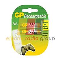 Акумулятор побут. GP 85AAAHC-UA, Ni-MH AAA, RO3, 1,2 V, 850mAh
