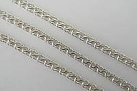 Красивая серебряная цепочка - плетени Доллар