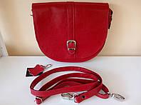 Красная женская сумка-мессенджер GRET
