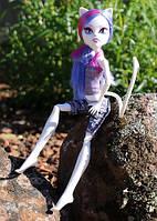 Кукла монстер хай Катрин де Мяу из серии Фантастик фитнес Catrine Demew Fangtastic Fitness