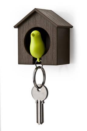 Настенная ключница Qualy Sparrow Keyring, фото 2