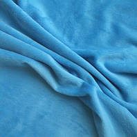 Плюш голубой