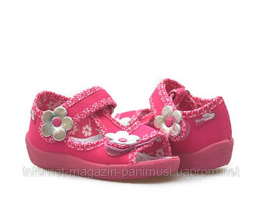 53d11f474 Детские босоножки для девочки розовые размер 19-27 Renbut 13-140  Ортопедическая вкладка.