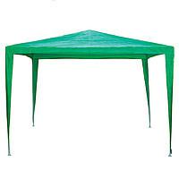 Садовый павильон GRP-203 (3x3х2,65 м), зеленый