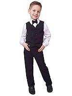 """Брюки детские для мальчика школьные М-935  рост 98-116 тм """"Попелюшка"""", фото 1"""