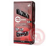 Набор рожковых ключей 6 шт., 6-17 мм Cr-V INTERTOOL HT-1001, фото 2