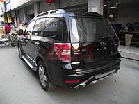 Накладка на задний бампер Subaru Forester 2003-2012