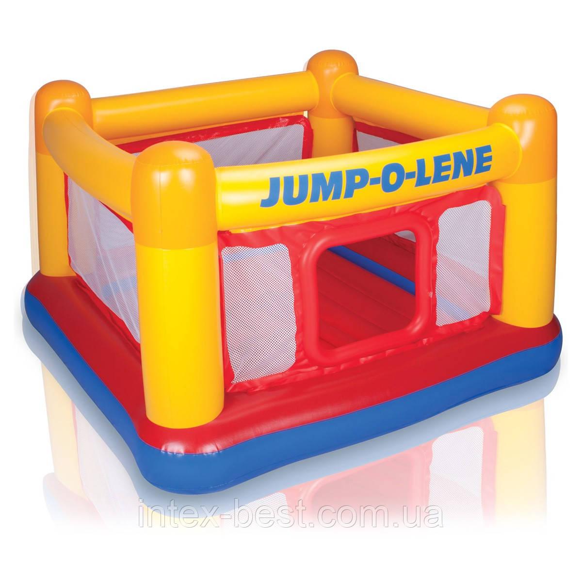 Intex 48260 - надувной батут Jump-O-Lene 174x174x112 см