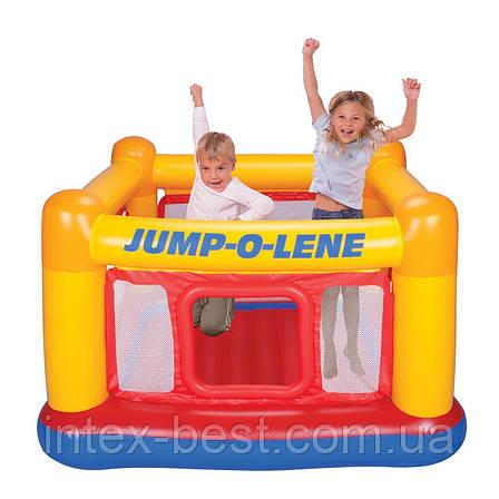 Intex 48260 - надувной батут Jump-O-Lene 174x174x112 см, фото 2