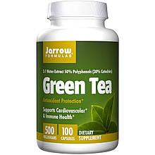 Экстракт зеленого чая, Jarrow Formulas, 500 мг, 100 капсул.