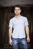 Рубашка мужская летняя (с коротким рукавом)