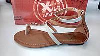 XTI сандалии женские коричневые