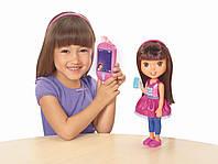 Интерактивная кукла Даша путешественница Fisher-Price Nickelodeon Dora & Friends Talking Dora & Smartphone