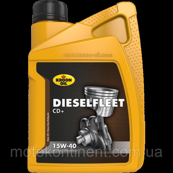 Моторное масло KROON OIL Dieselfleet CD+ 15W-40 минеральное для дизельных двигателей 20л KL31052