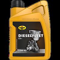 Моторное масло KROON OIL Dieselfleet CD+ 15W-40 минеральное для дизельных двигателей 208л KL10222